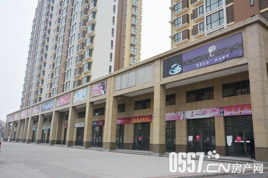 安厦·新街坊沿汴河西路欧式风情商业街实景图一览 12月18日实拍